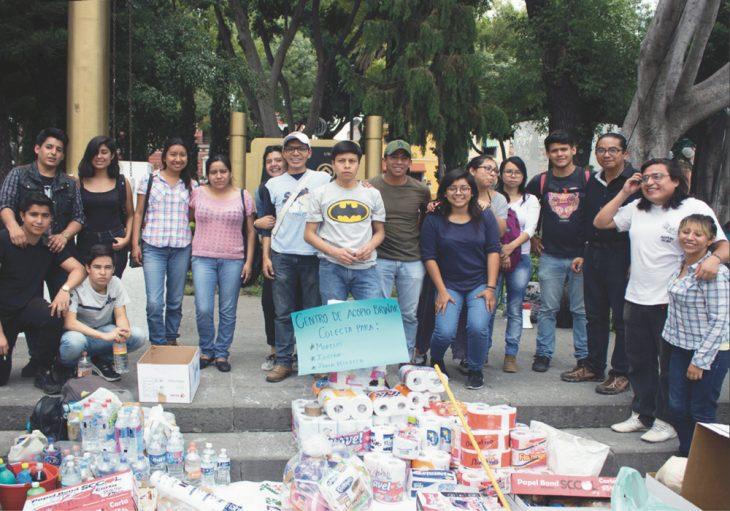 estudiantes voluntarios sismo s19 temblor puebla septiembre ibero upaep oca articulo guia oca