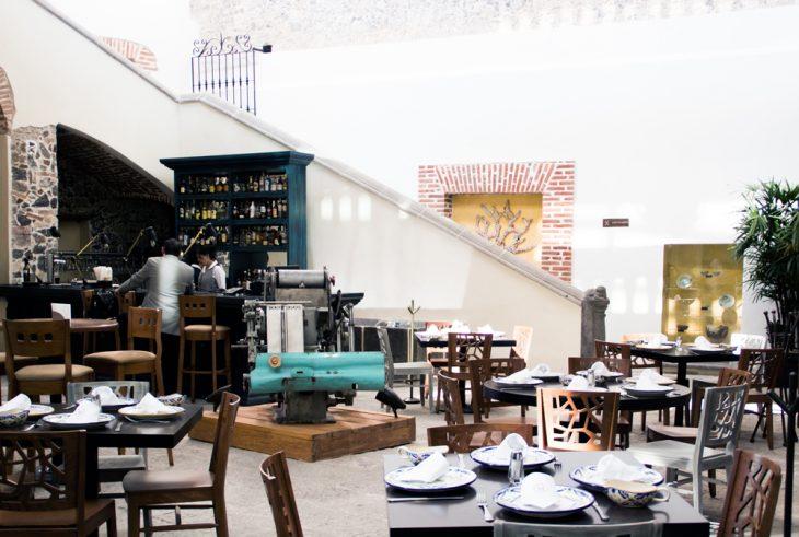 Le Caparaud centro historico oca guia puebla mexico recomendacion restaurante frances francia french restaurant