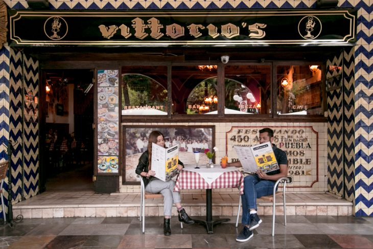 Vittorios pizza pizzeria pasta centro oca guia puebla mexico diciembre restaurante comida recomendacion vino