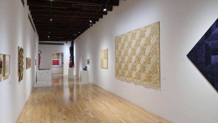 Hilos Libres El textil y sus raices puebla museo amparo guia oca arte exposicion museografia