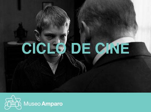 la cinta blanca proyeccion Museo Amparo