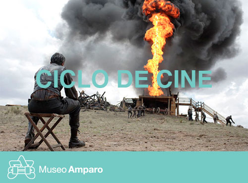 petroleo sangriento proyeccion Museo Amparo
