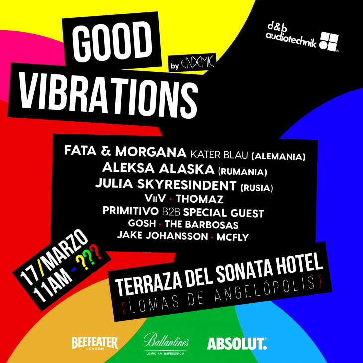 Good Vibrations 2018 Marzo Endemic