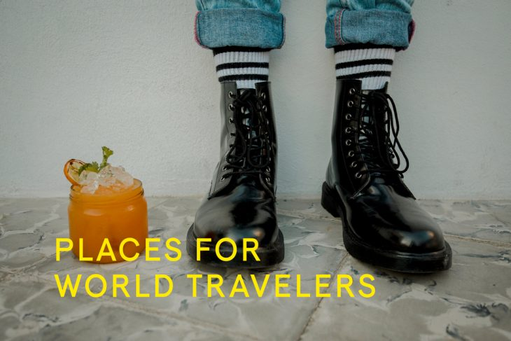 A place for world travelers