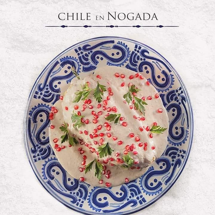 Temporada de Chiles en Nogada 💙