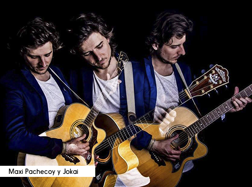 Maxi Pachecoy y Jokai
