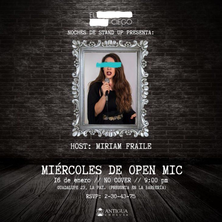 Miércoles de Open Mic