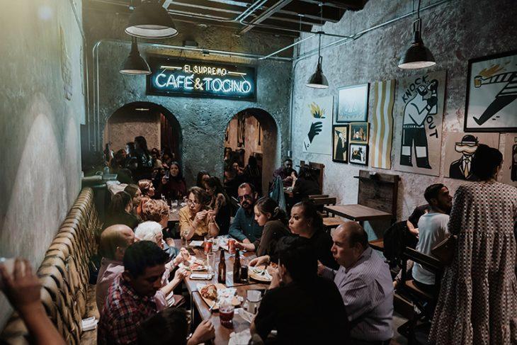 El nuevo Café & Tocino