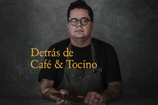 Detrás de Café & Tocino