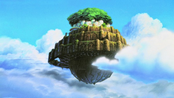 Proyección: El Castillo en el Cielo