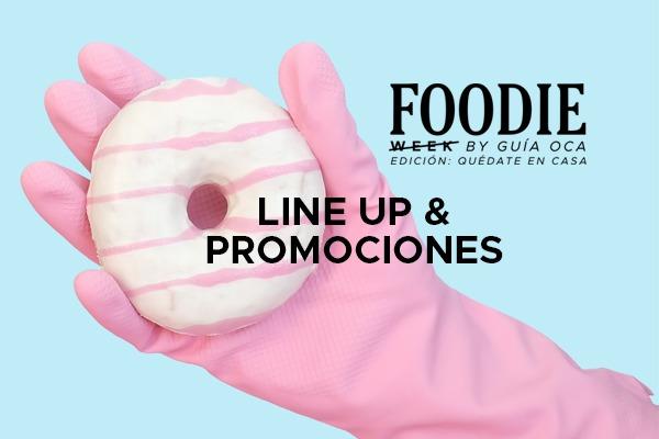 Foodie Week: Edición Quédate en Casa
