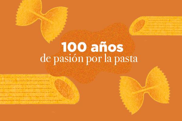 100 años de pasión por la pasta