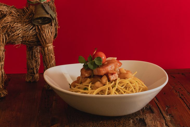 Navidad con Italpasta: Spaghetti a la mantequilla