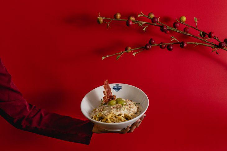 Navidad con Italpasta: Tallarines en salsa de queso